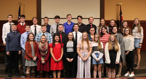 2018-2019 Academic Award Winners - Freshman