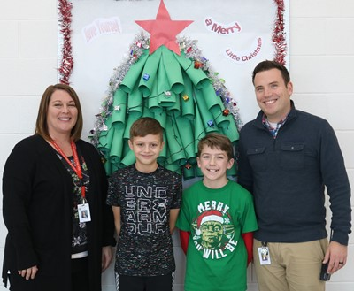 Mrs. Wehner, Drayden, Harrison and Mr. Krogman